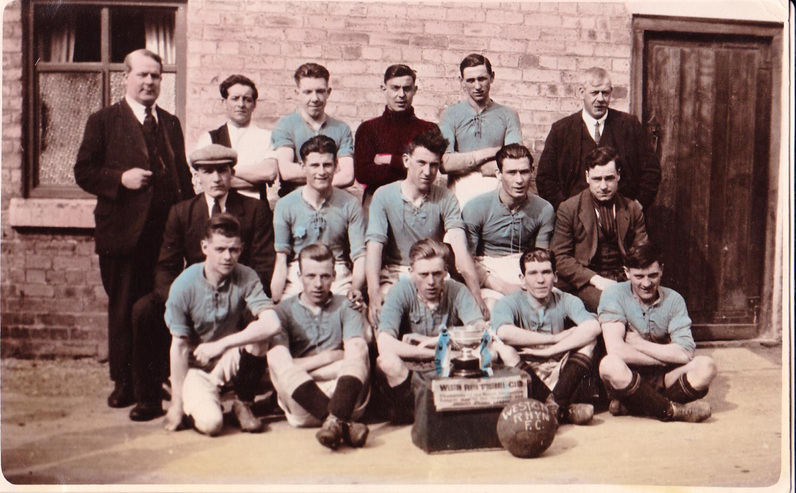 Weston Rhyn Football Club - Circa 1930